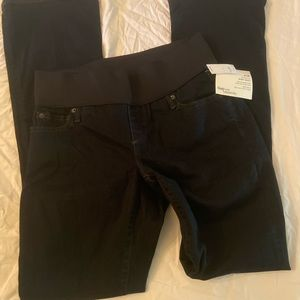 Gap Maternity Demi Panel baby boot jeans
